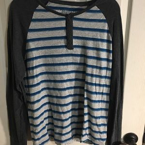 Aeropostale long sleeve striped tee